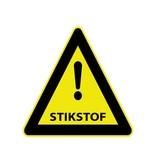 Pas op stikstof Sticker