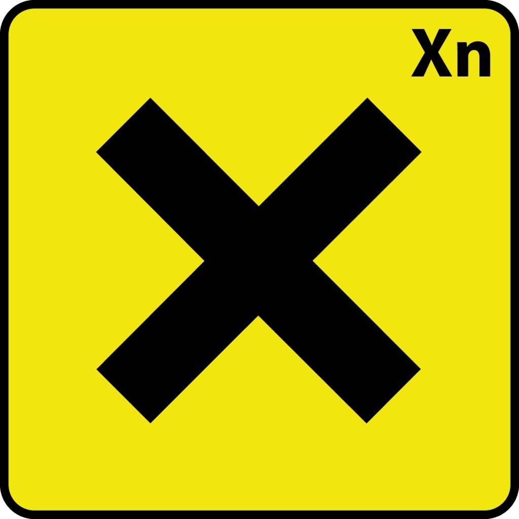 Gesundheitsschädlich Xn Aufkleber