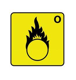 Oxiderend O Sticker