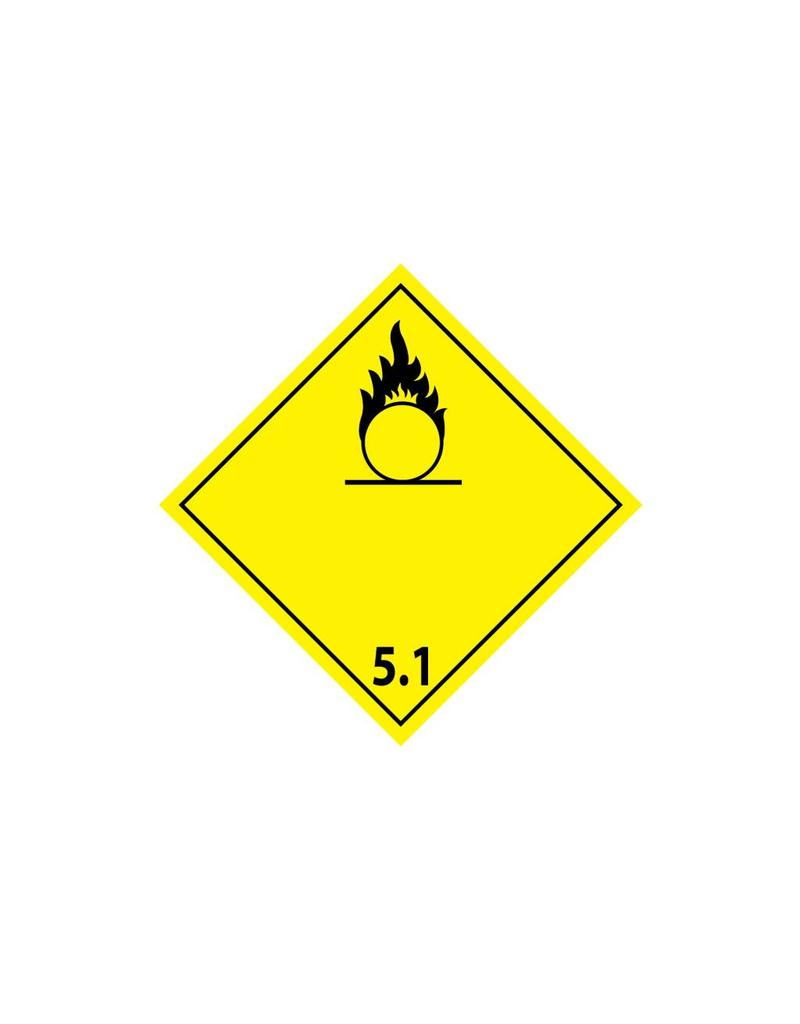 Oxiderende stoffen 5.1 Sticker