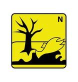Schadelijk voor het milieu N Sticker