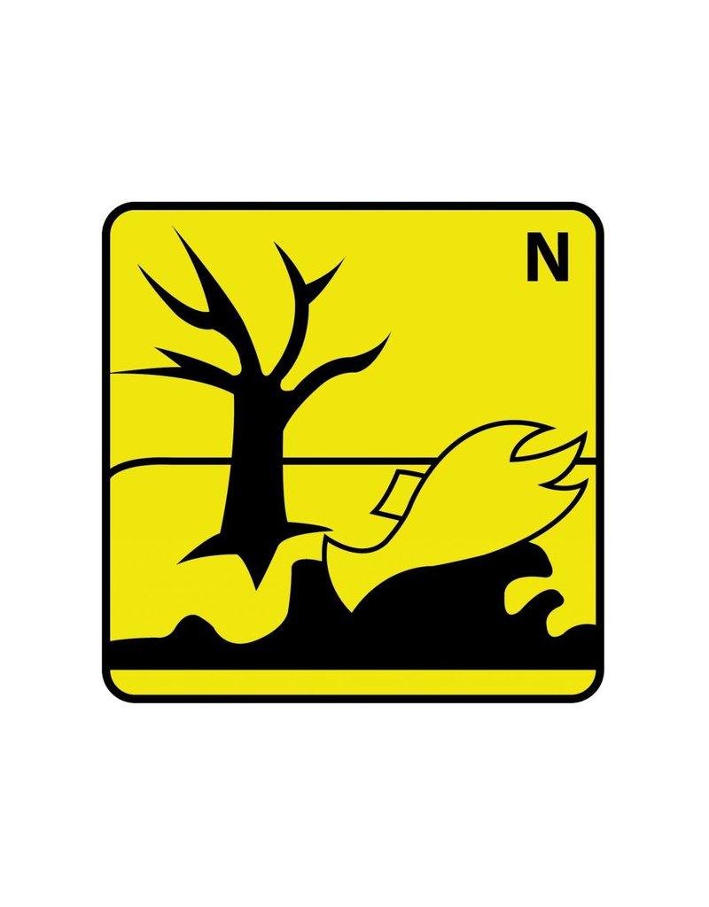 Umweltgefährlich N Aufkleber