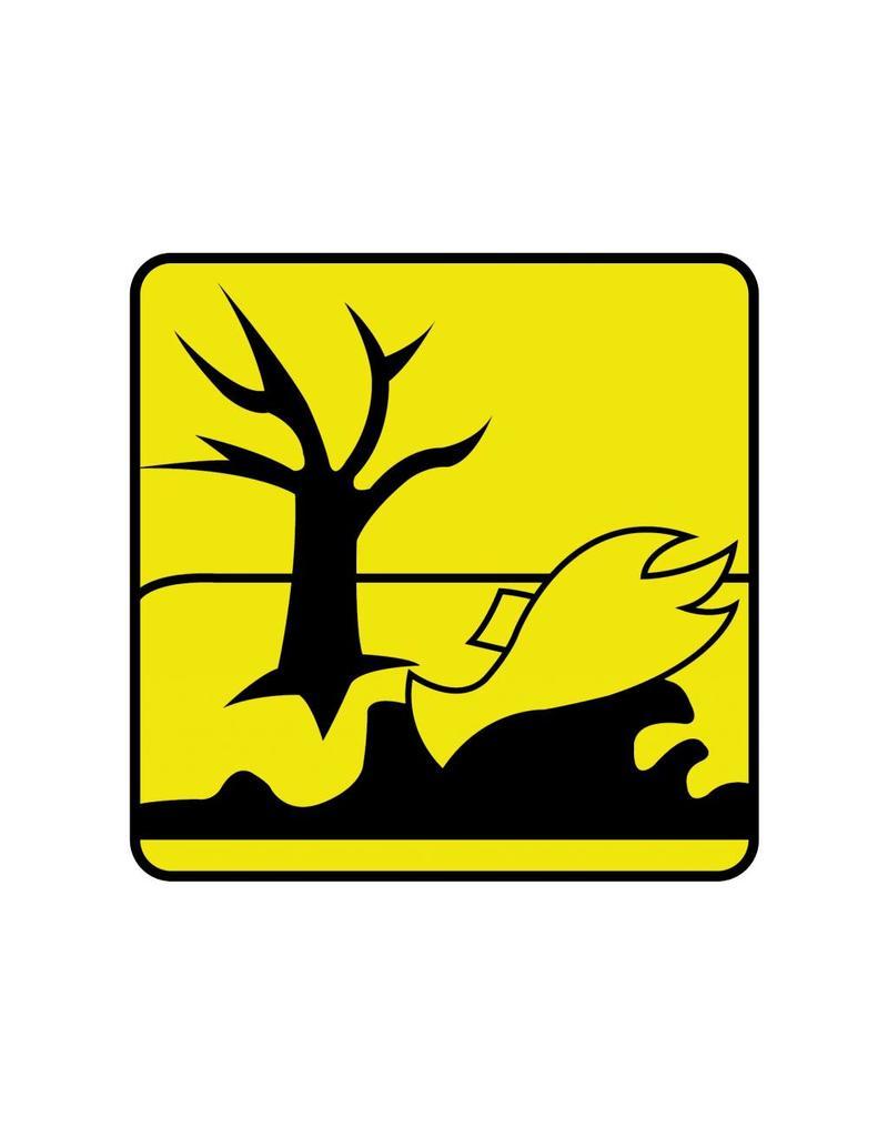 Dangereux pour l'environnement autocollant