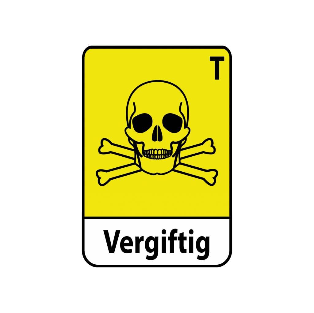 Autocollant toxique T5