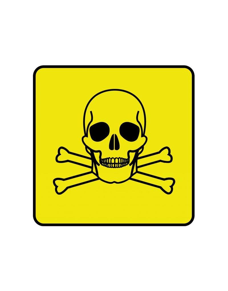 Giftig 2 Aufkleber