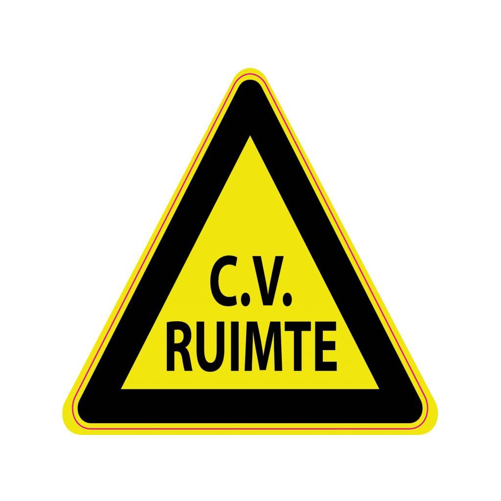 CV ruimte Sticker