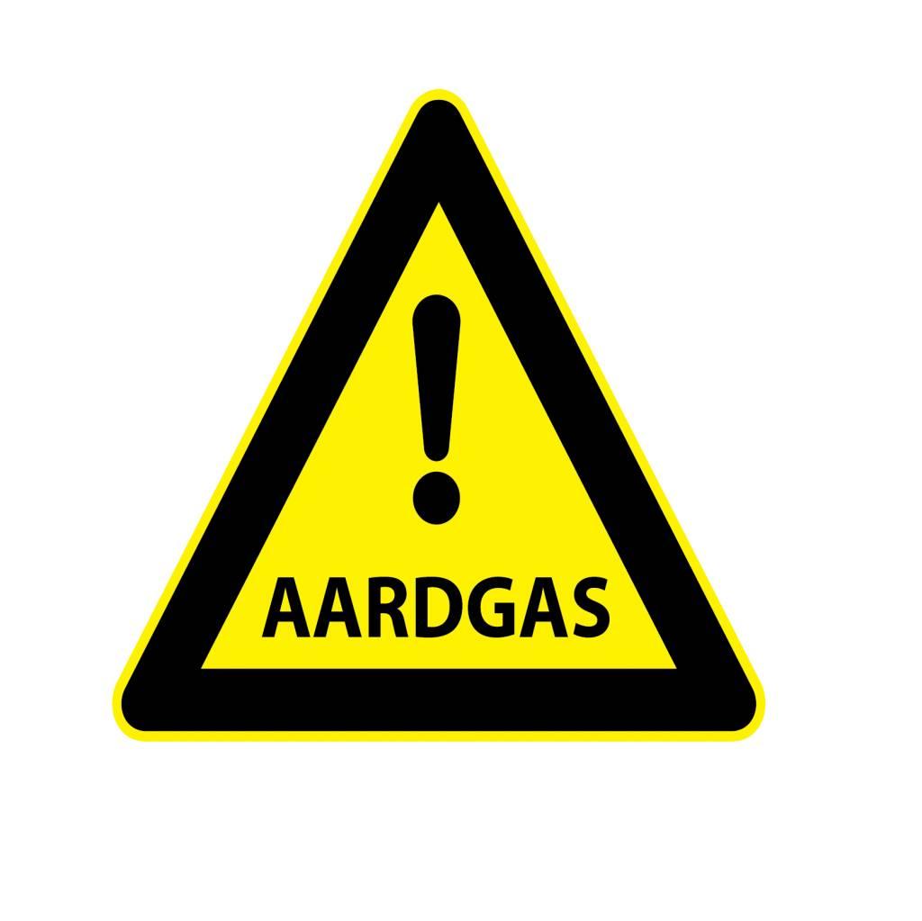 Pegatina gas natural