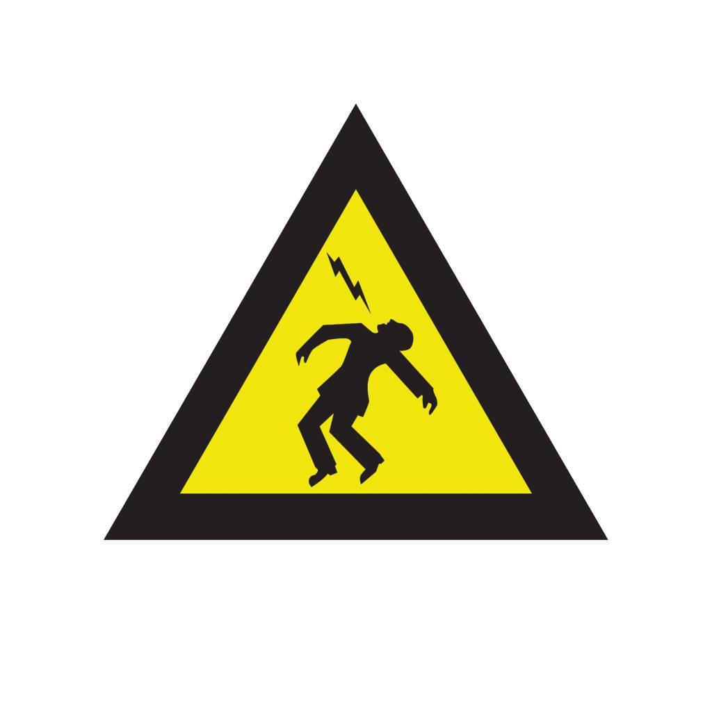 Warnung vor elektrischer Spannung Sticker