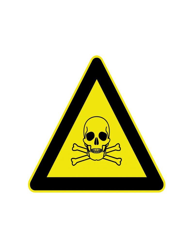 Giftig Aufkleber