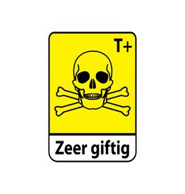 Sehr giftig T+ Text Sticker