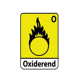 Oxiderend O1 Sticker
