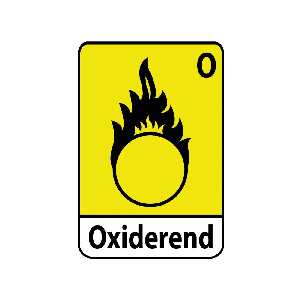 Oxiderend O1 Sticker