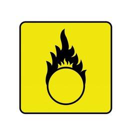 Oxiderend Sticker