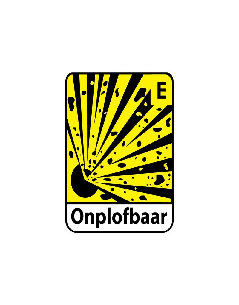 Explosief E2 Sticker