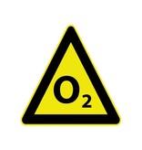 O2 Pegatina