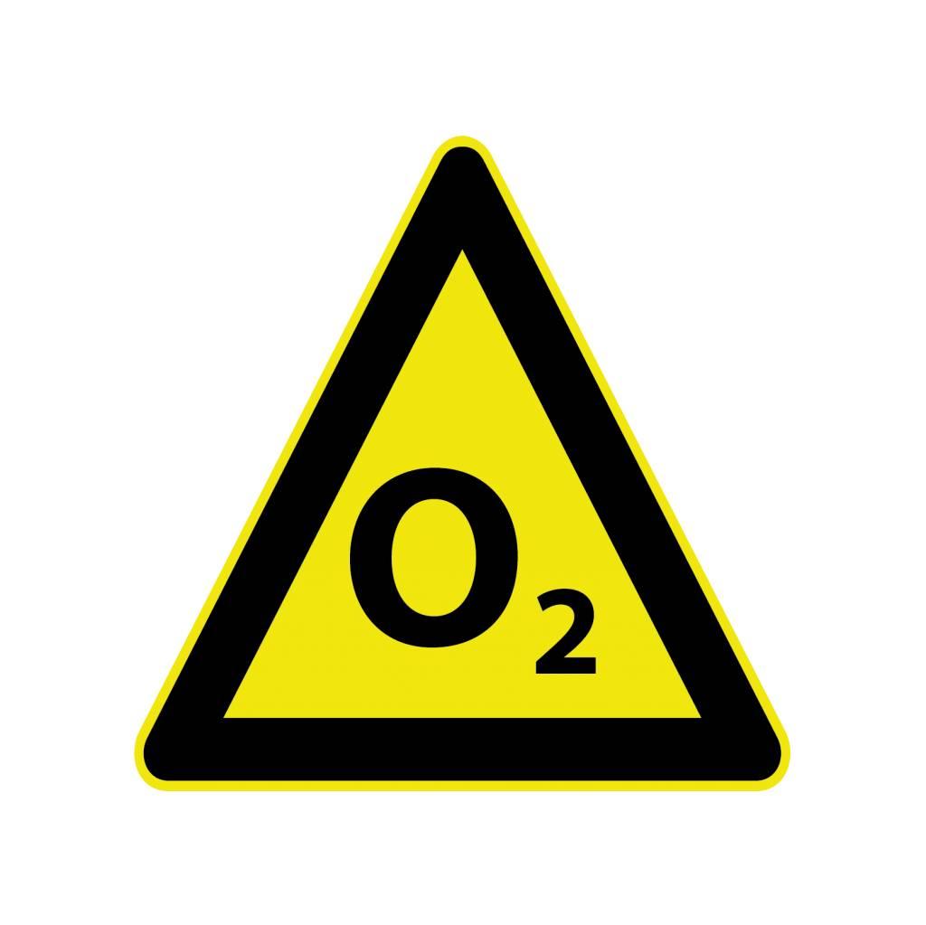 O2 Aufkleber