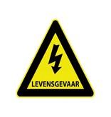 High voltage levensgevaar Sticker