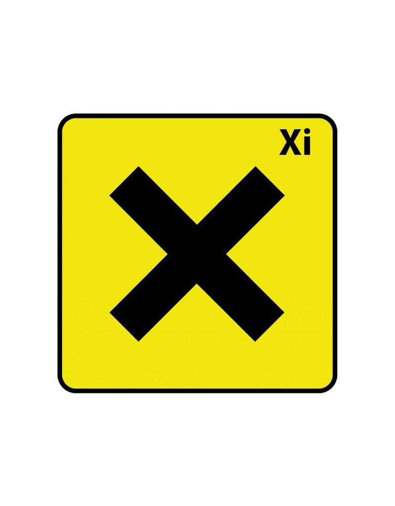 Irriterend Xi Sticker