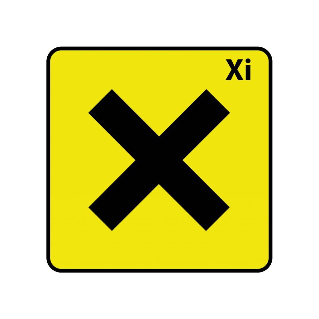 Irritant Xi autocollant