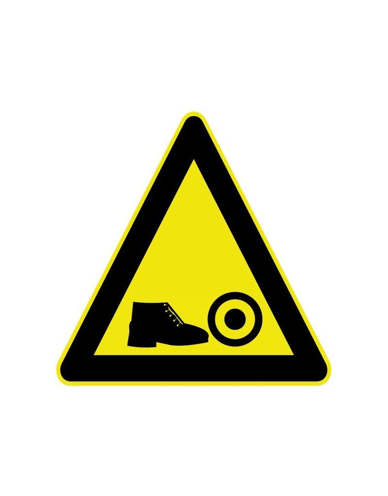 Gevaar voor voeten Sticker