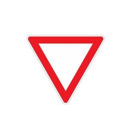 Voorrang verlenen op kruising Sticker