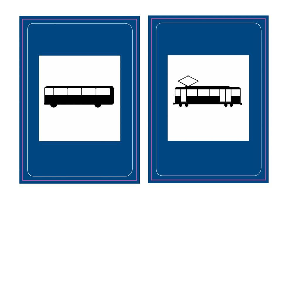 Bushaltestelle / Straßenbahnhaltestelle