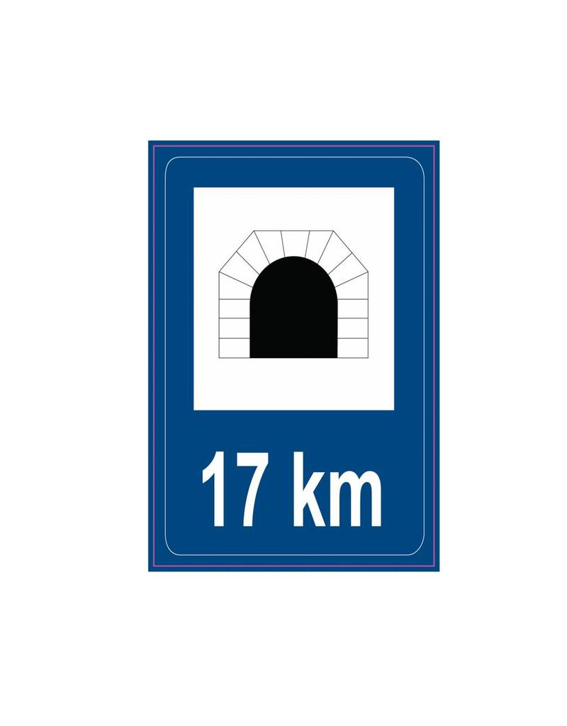 Modell Zeichen Tunnel