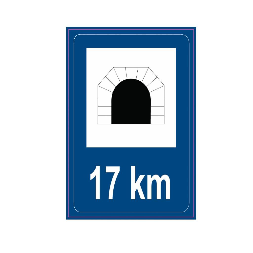 Model bord Traffic Tunnel