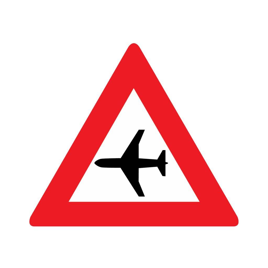 Laagvliegende vliegtuigen