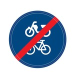 End bicycle/bike path