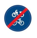 Fin vélo / chemin de cyclomoteur