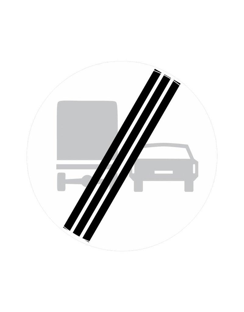 Ende des Überholverbots für Lastkraftwagen