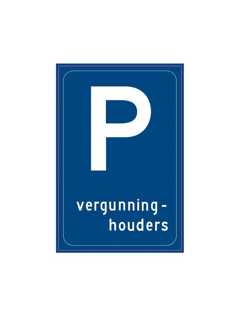 Parkeergelegenheid alleen bestemd voor vergunninghouders