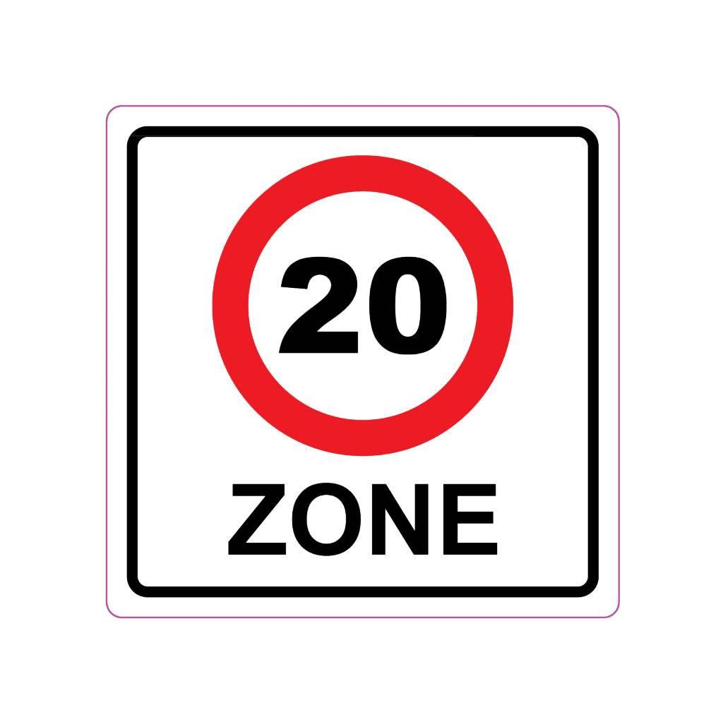 Une zone de 20 km