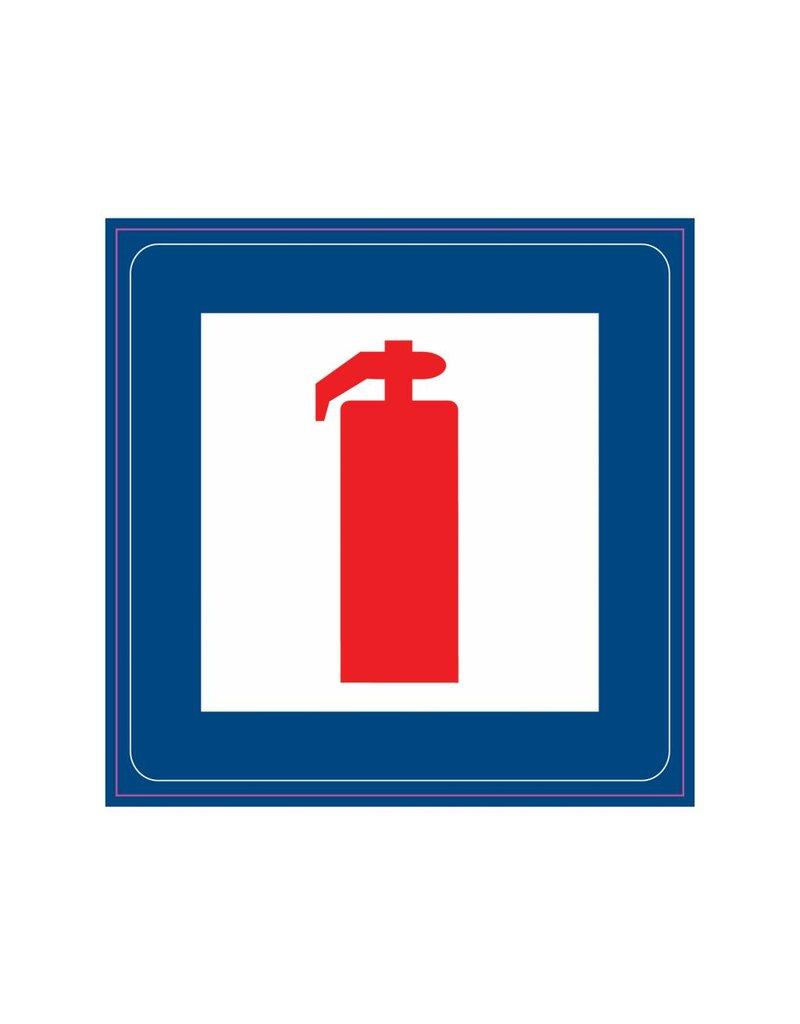 Extinguisher tool Sticker