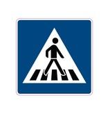 Fußgängerüberweg Aufkleber