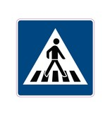 Pedestrian cross over Sticker