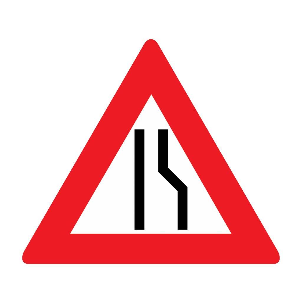 Road narrow right
