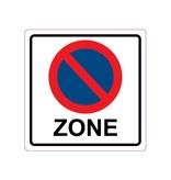 Autocollant interdiction de stationnement
