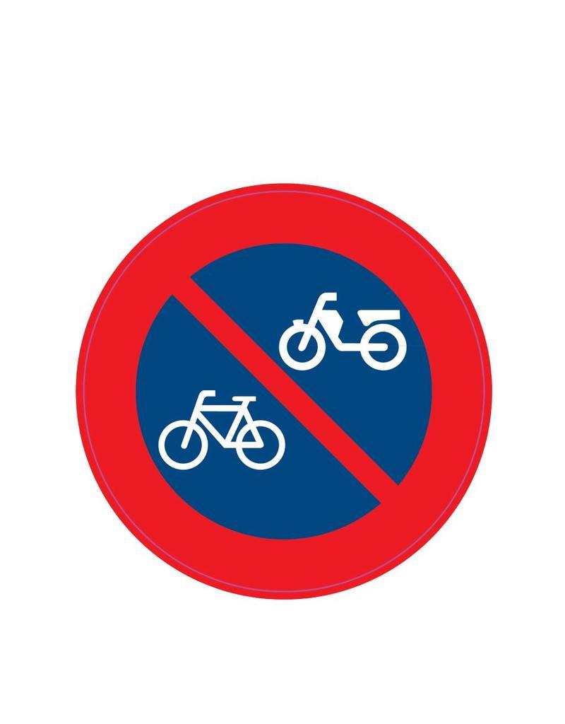 Verbod fietsen en bromfietsen te plaatsen