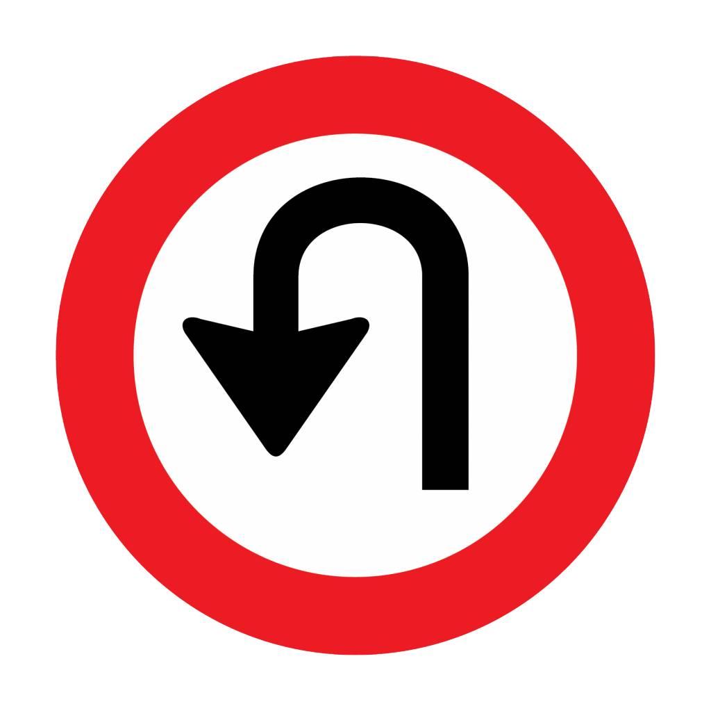 Forbidden to turn around