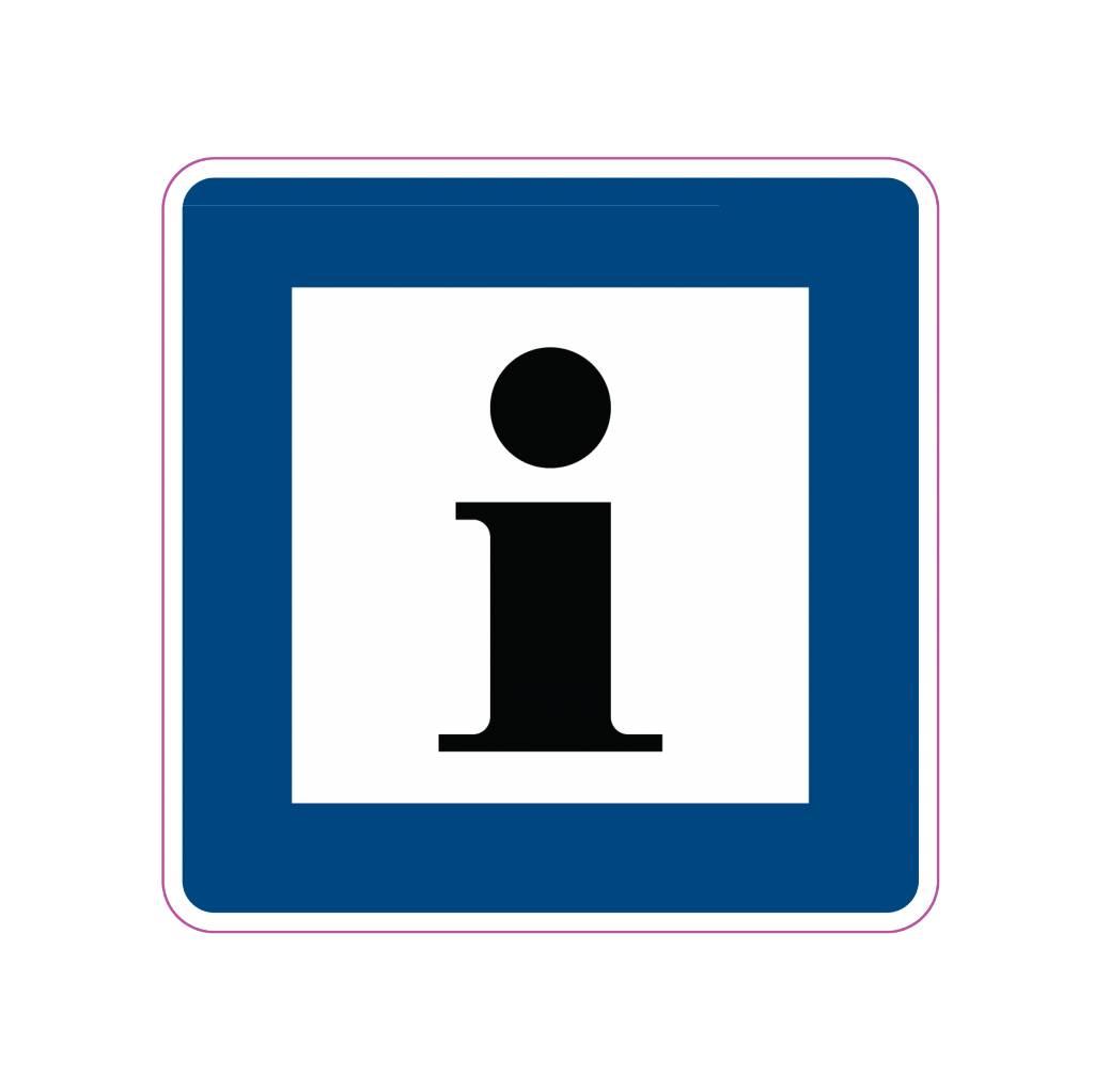 Information1 autocollant