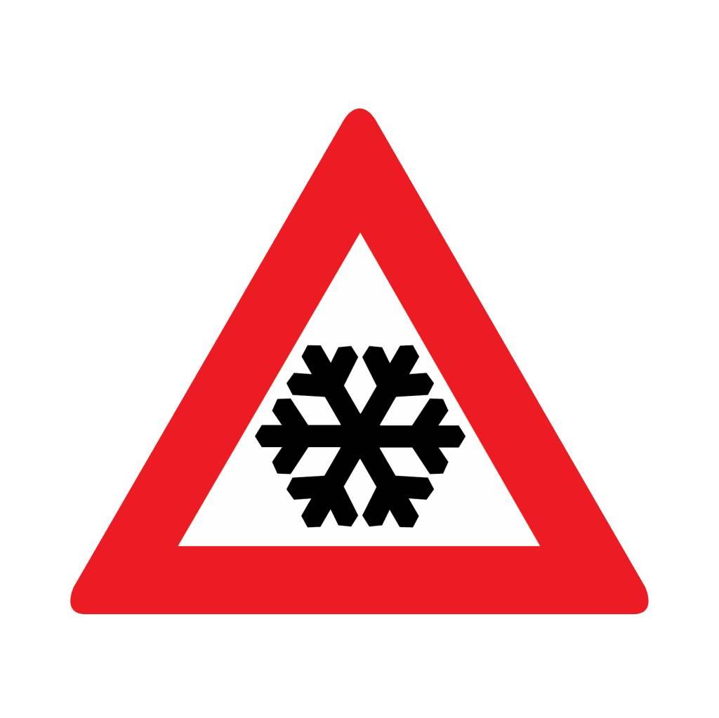 Schnee- oder Eisglätte