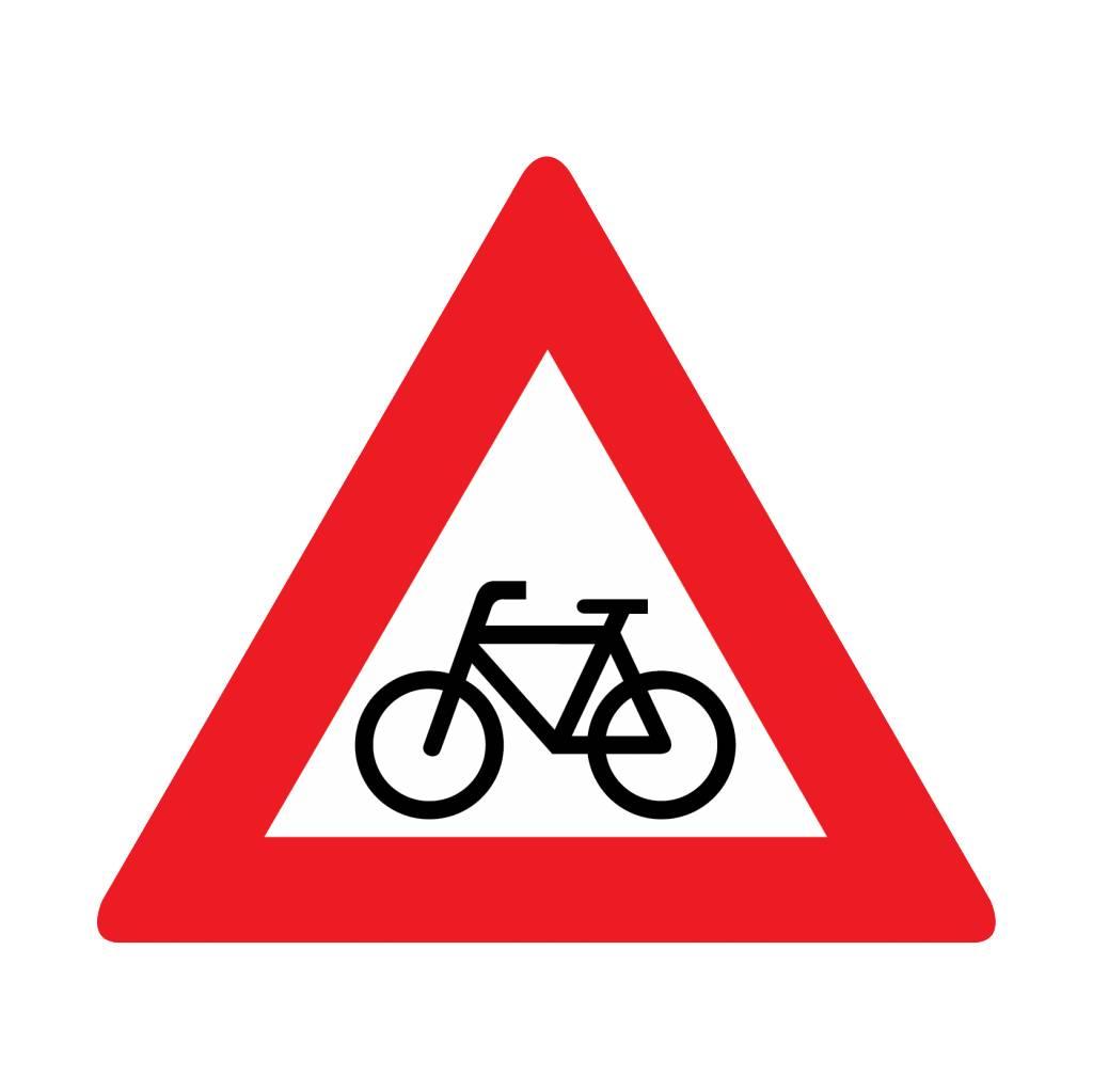 Bicycles warning