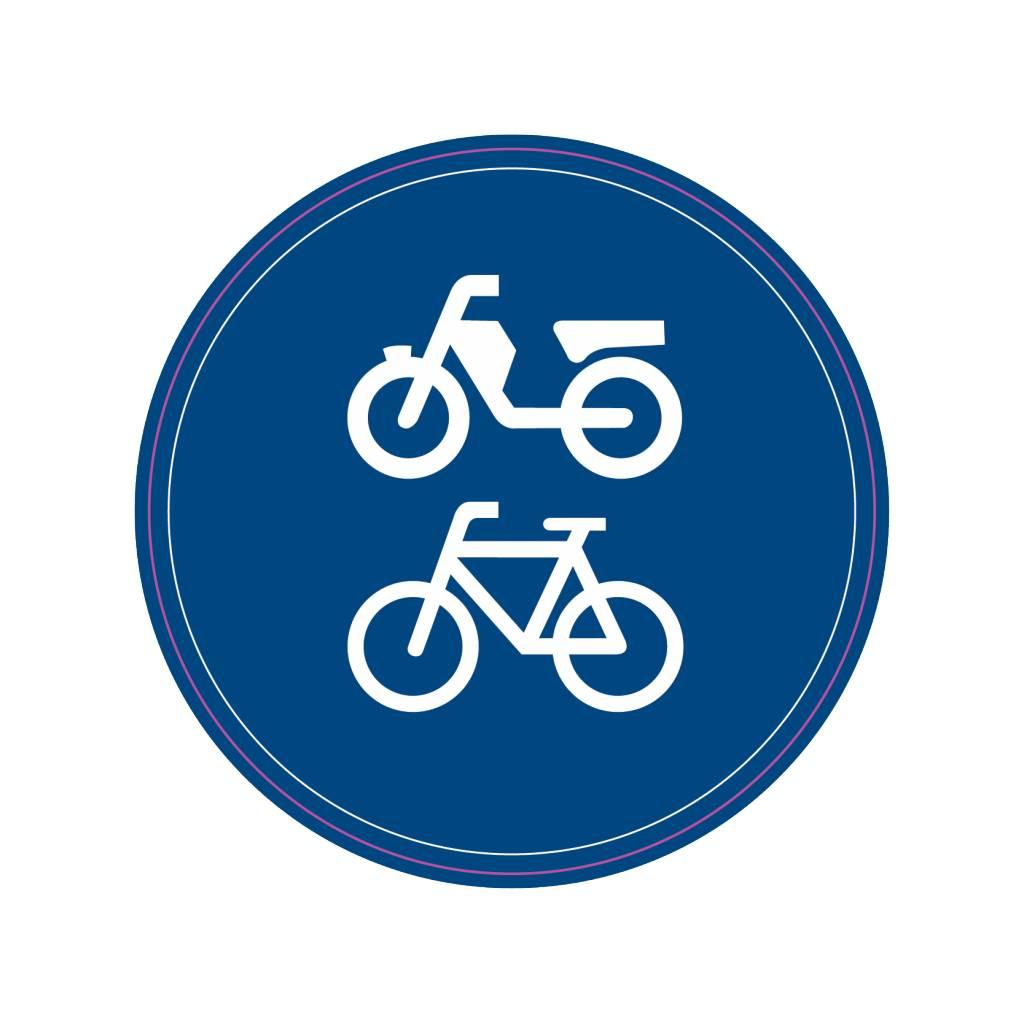 Vélo / chemin de cyclomoteur