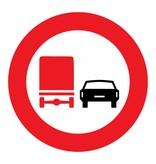 Interdiction pour les camions de dépasser les véhicules