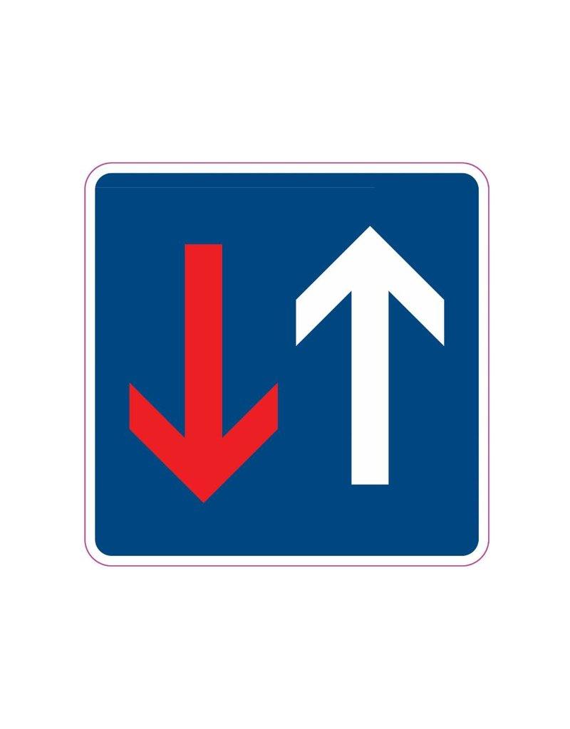 Voorrang op bestuurders van andere richting