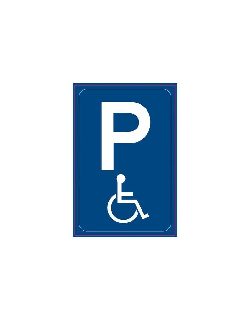 Parken nur für Schwerbehinderte