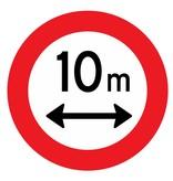 Verbot für Fahrzeuge deren Länge die Angabe überschreitet
