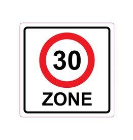 Zone de 30 km Autocollants